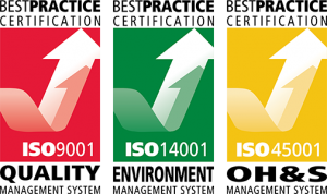 BP ISO9001 ISO14001 ISO45001